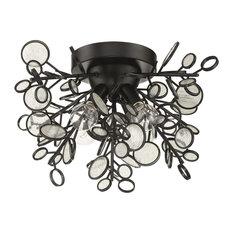 Craftmade Sigrid 4-Light Flushmount, Matte Black