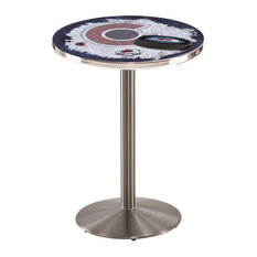 Colorado Avalanche Pub Table 28-inchx42-inch