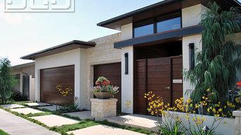 Contemporary Garage Door Designs Made in Orange County, CA