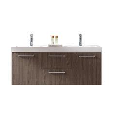 55 inch double sink bathroom vanities   houzz