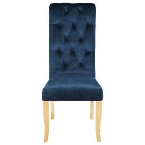 Chiswick Dining Chair, Indigo Blue
