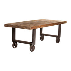 moes home collection orting dining table dining tables: dining table with wheels