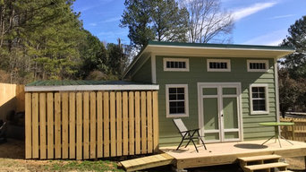 10'x16' Contemporary Shed with Hardie siding