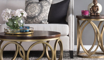 Coffee Tables, Accent Tables and Bookcases With Free Shipping