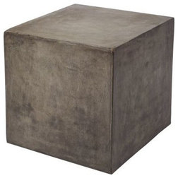 Industrial Outdoor Side Tables by Buildcom