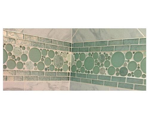 Green Bubble Mosaic - Tile