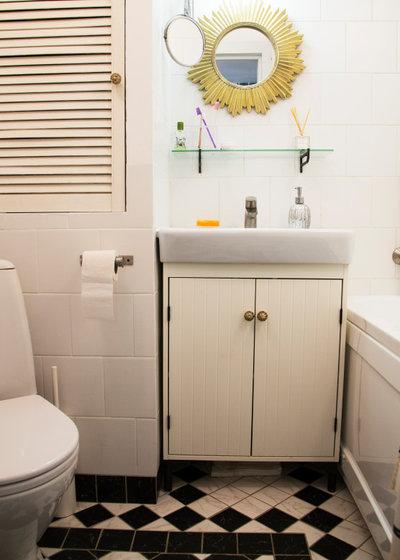Средиземноморский Ванная комната by Baranova Dasha Architect