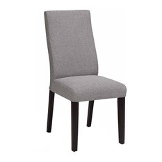 ARTEFAC   Fabric Dining Chair With Ergonomic Back   Dining Chairs