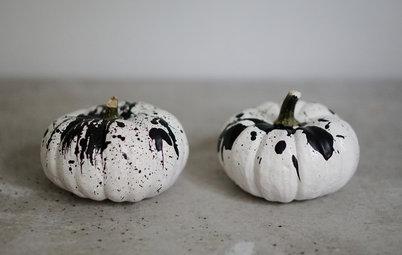 Gør det selv: Grafisk og trendy Halloween-dekoration
