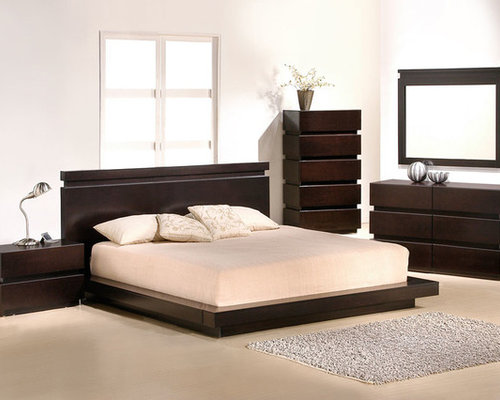 Contemporary, Modern Bedroom Collection   Beds
