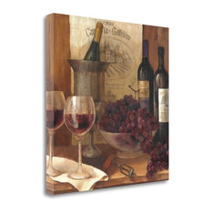 """Vintage Wine Crop"" By Albena Hristova, Giclee Print on Gallery Wrap Canvas"