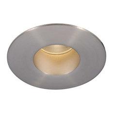 WAC Lighting   WAC Lighting Tesla   LED 2in Shower Round Trim, Warm Light