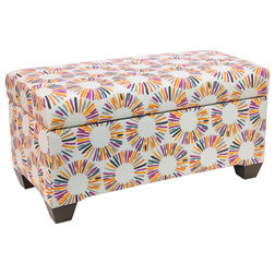 Contemporary Accent And Storage Benches by Skyline Furniture Mfg Inc