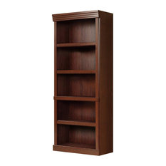 Scranton & Co 5 Shelves Bookcase In Classic Cherry