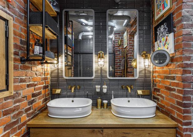 Лофт Ванная комната by Наталья Преображенская | Студия Уютная Квартира
