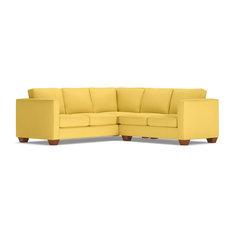 Catalina 2-Piece L-Sectional Sofa, Gold