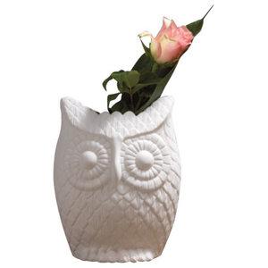 Edvige Owl Vase