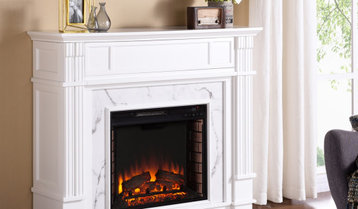 Highest-Rated Fireplaces and Accessories