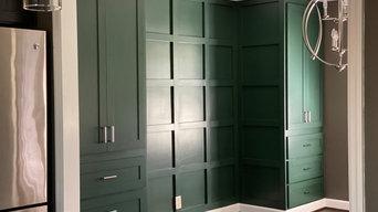 Dard Green Built ins