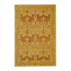 Safavieh Anatolia Collection AN541 Rug, Beige/Gold, 6'x9'