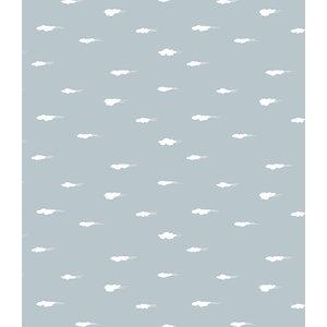 Lola Daydream Grey PVC Tablecloth, 140x200cm
