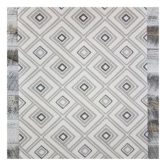 York Aztec Pattern Play Paradox Geometric Cream Taupe Wallpaper, Yard