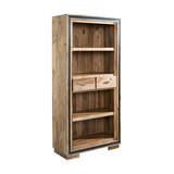 Lingfield Sheesham Large Wide Bookcase