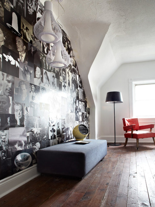 Decoupage Walls Houzz