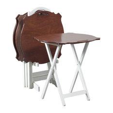 Laptop Folding Tray Table - Set of 4