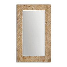Uttermost - Uttermost 07068 Demetria Oversized Wooden Mirror - Wall Mirrors