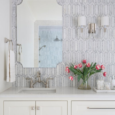 Inspiration for a transitional home design remodel in Little Rock