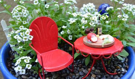 How to Make a Miniature Garden