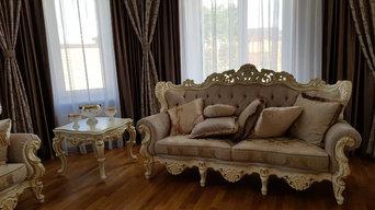 Мебель в стиле барокко.