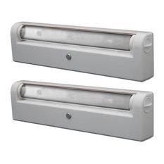 LED Swiveling Under Cabinet Light, 2-Pack, White