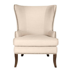 Grant Wing Chair, Oatmeal