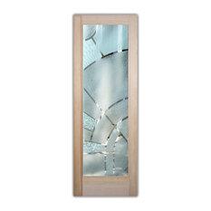 Sans Soucie Art Glass   Interior Glass Door Sans Soucie Art Glass Matrix  Arcs 3D