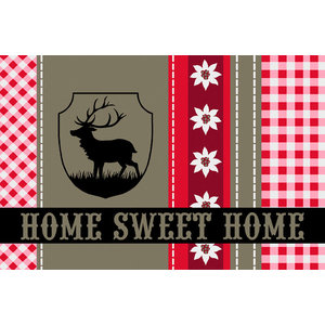 Home Sweet Home Gallery Door Mat, Small