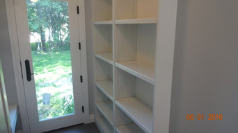 OUR WORK! CLOSET-DOORS-MEDIA CENTER