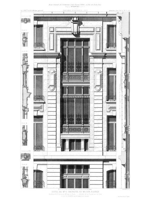 Hotel Hachette - Carta da parati