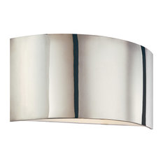 Dianelli 2 Light Wall Sconce in Polished Nickel