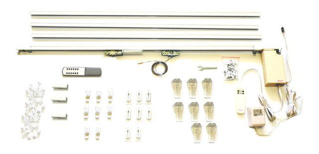 rods traverse electric remote pictures motorized control rod motorised rails rail erod concept striking pole curtain