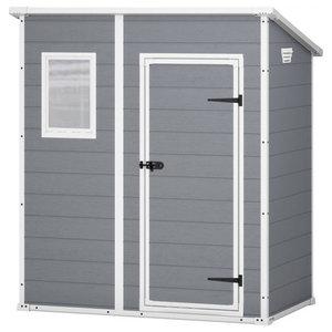 Keter Storage Shed, Grey, 184x111 cm