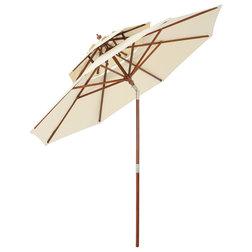 Unique Contemporary Outdoor Umbrellas by GDFStudio