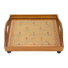 "Antigua Sand 12"" Square Tray"