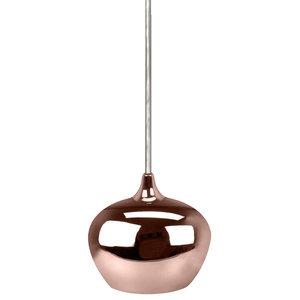Lickoeur Metal Pendant, Bright Copper, Small