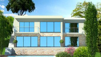 villa californienne neuve