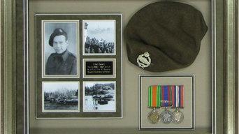 Framed Medals