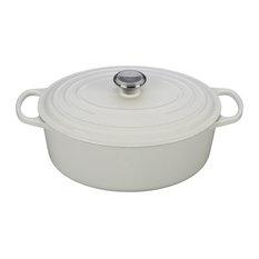 Le Creuset Signature Oval Dutch Oven, White
