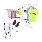 Costway Laundry Clothes Storage Drying Rack Folding Dryer Hanger Heavy Duty