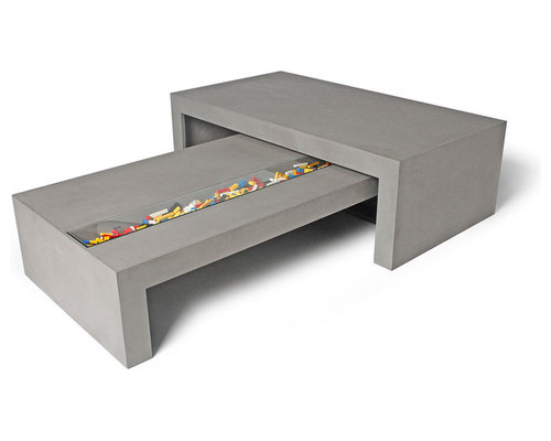 Concrete furniture - Tables basses contemporaines ...